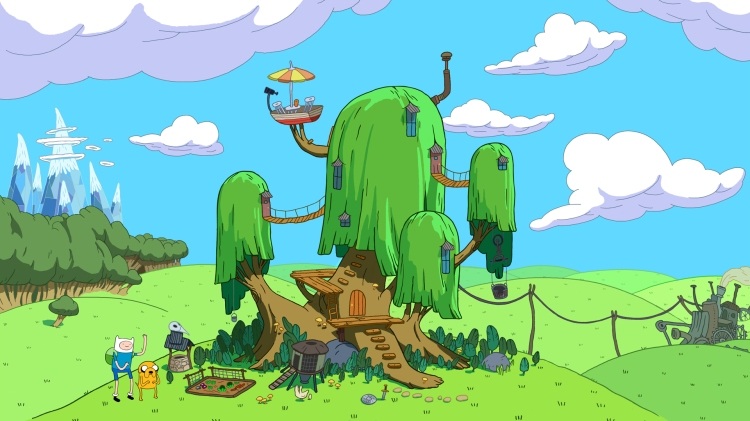 adventure-time treehouse